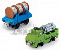 TOMEK I PRZYJACIELE TAKE N PLAY WAGONIKI TRANSPORTOWE SODOR SUPPLY Co. R8865 FISHER PRICE MATTEL